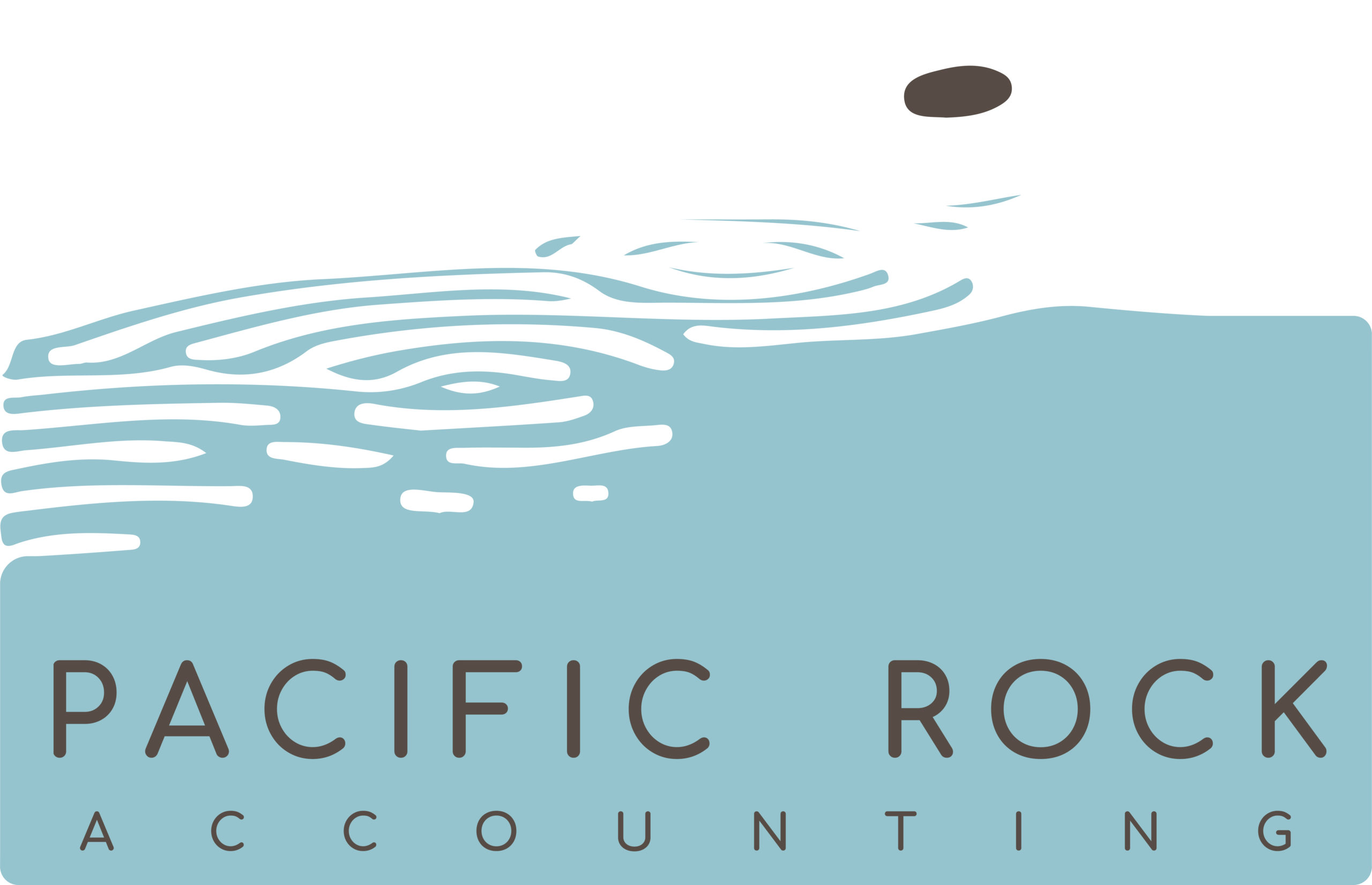 Pacific Rock Accounting Logo